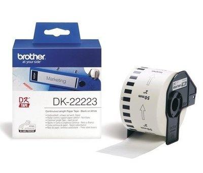 BROTHER DK-22223 連續標籤帶 未稅