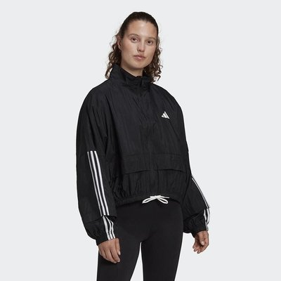 【AIRWINGS】ADIDAS FS2430 女性黑色UR COVER UP運動外套