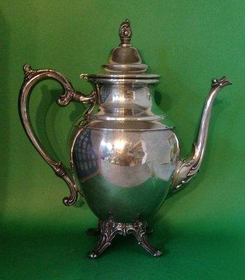 303 高級英格蘭鍍銀壺 Rodgers Silver Plate Coffee Pot