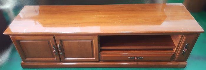 【宏品二手家具館】A41901*6尺2門2抽電視櫃* 實木餐桌椅 全新中古傢俱買賣 2手家電器 古董 仿古 雕刻 藝品