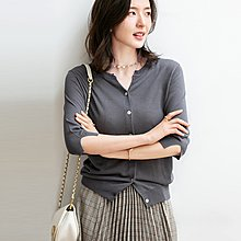 YOHO 針織外套 (SDPF2099) 實拍百搭可兩穿的針織衫外套 有7色 M-L