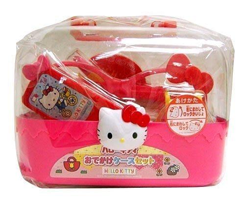 佳佳玩具 --- 正版授權 Hello Kitty 凱蒂貓 手提盒 時尚兒童配件組 眼鏡 手錶 梳子 【0511352】