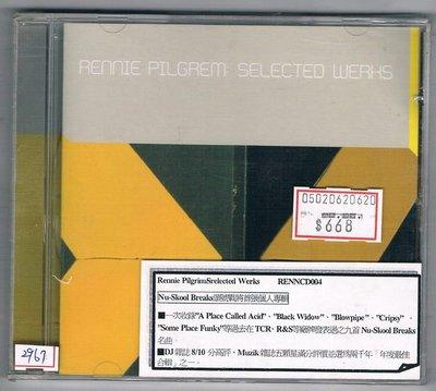 [鑫隆音樂]西洋CD-Rennie Pilgrim/Srelected Werks /全新/免競標