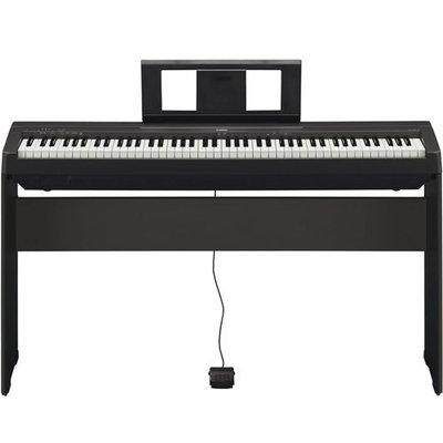 【功學社音樂中心】YAMAHA 電鋼琴 數位鋼琴 P45 免運  另售P125