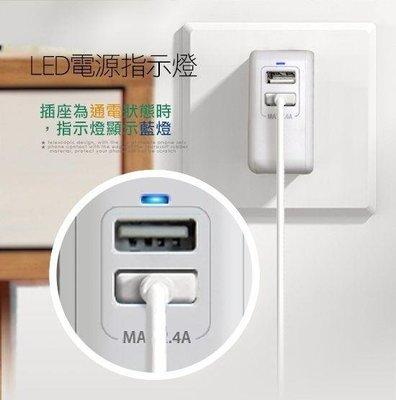 【鐵人科技】SONY Xperia Z4 E6533 Z3+ Z3  商檢認證 2.4A 雙孔USB LED提示 充電器