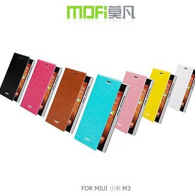 *PHONE寶*MOFI 莫凡 MIUI 小米3 M3 新睿系列側翻可立皮套 保護殼 保護套