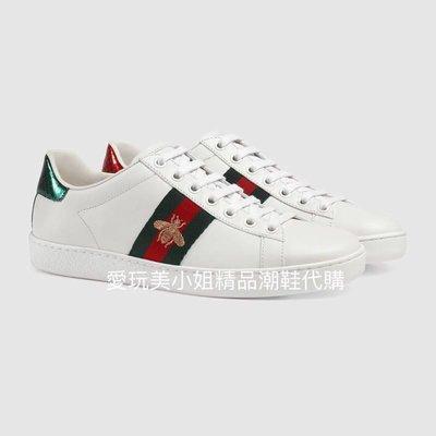 Gucci 🆕✔️ 蜜蜂🐝小白鞋