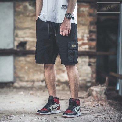 CPMAX 多口袋工裝高磅五分短褲 男短褲 高磅短褲 男五分褲 休閒短褲 工作褲 純棉短褲  [K49]
