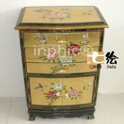 INPHIC-新古典金箔手繪 多用途小櫃玄關櫃臥室首飾櫃