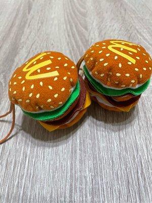 麥當勞玩具 麥香堡吊飾 單賣99元{已拆封}