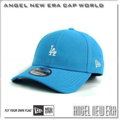 【ANGEL NEW ERA 】MLB 洛杉磯道奇 LA 藍綠白字 小LOGO 古著 復古老帽 9FORTY 限量帽