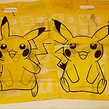 Pokemon Store 購物袋 - 比卡超(大)