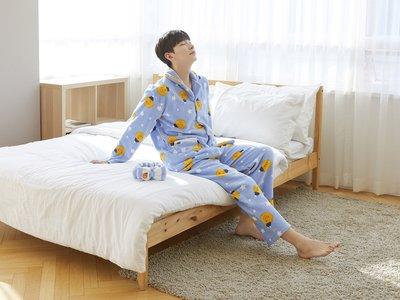 全新 韓國限定 KAKAO FRIENDS Polar Pattern Mens Pajama RYAN 男裝睡衣 正品 預購(可旺角門市交收)