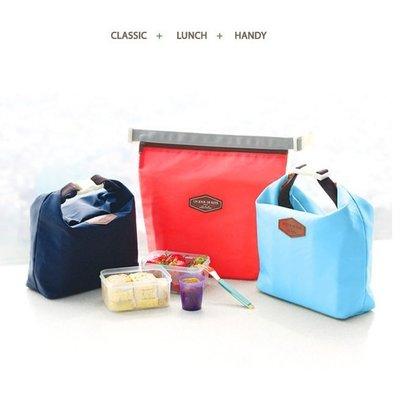 韓版 便當袋 保溫袋 收納包 保鮮包 手提式束口包 拉鍊包 化妝包 旅行袋 衣物收納. 【RB403】