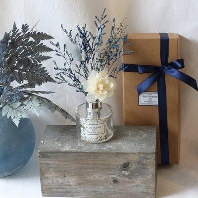 【原生態NaturWorld】海洋擴香禮盒組/禮物包裝/擴香瓶+擴香花