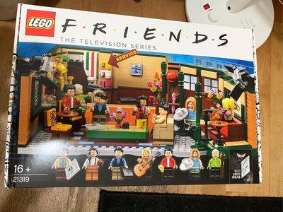 現貨 正品 LEGO 21319 中央公園咖啡館 六人行 樂高 全新未拆