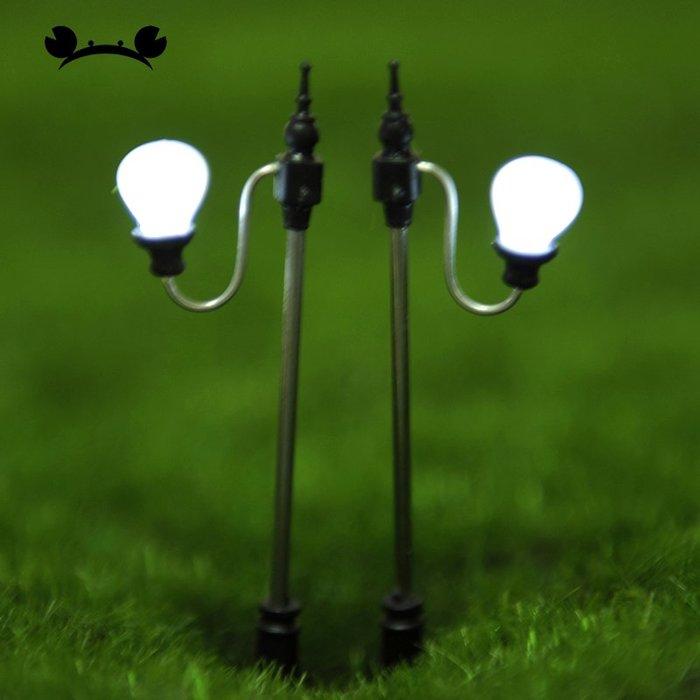 滿250發貨)SUNNY雜貨-電子元件單頭銅燈 18號1:100 1個裝#模型#建築材料#DIY