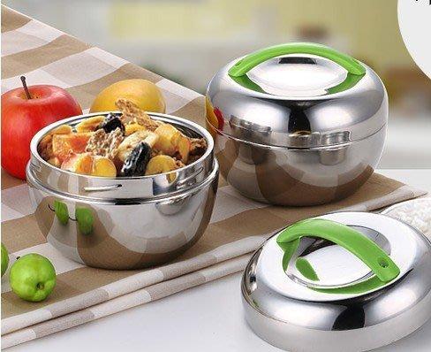 紫滕戀推出304不鏽鋼飯盒便當盒 雙層蘋果學生保溫飯盒時尚飯碗可愛創意餐盒  容量加大不加價
