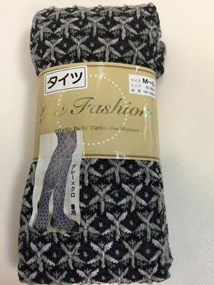 日本帶回花紋褲襪