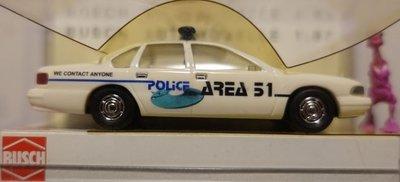 傑仲 博蘭 公司貨 BUSCH Chevrolet Caprice ,,Area 51'' 47621 HO