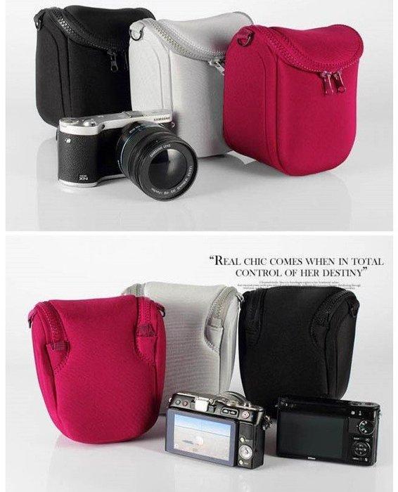 《阿玲》 CANON EOS M M2 2件式 18-55mm 皮套 微單眼相機  相機包 防撞包