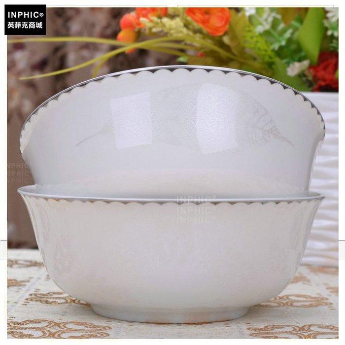 INPHIC-骨瓷 餐具單品 麵碗方之銀_S01861C