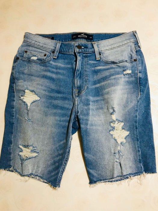 *【小pen潮牌】...HOLLISTER 潮牌牛仔短褲, 100%正品~ SKINNYSHORT