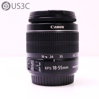【US3C-台中店】【一元起標】公司貨 Canon EF-S 24-55mm F4-5.6 IS II 防手震 二手鏡頭