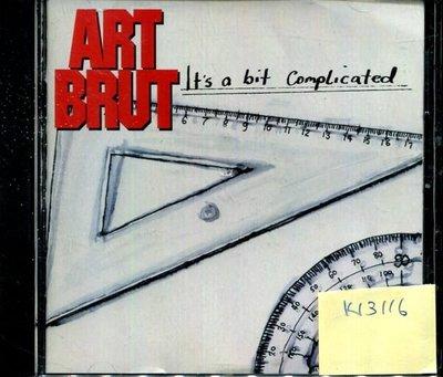 *真音樂* ART BRUT / IT'S A BIT 二手 K13116 (封面底破.CD有缺口不影響讀取)
