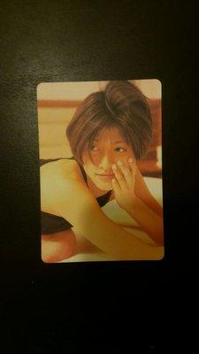 內田有紀 yes card兩張