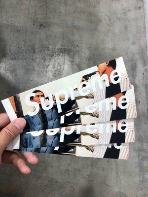 ◇Supreme x The Killer Box Logo Sticker 貼紙 周潤發 發哥 喋血雙雄 李修賢◇