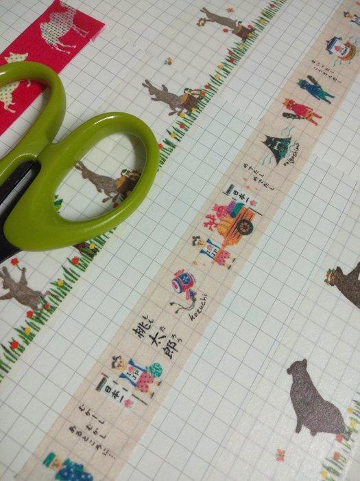 【R的雜貨舖】紙膠帶分裝 MARK'S masté/ 桃太郎物語