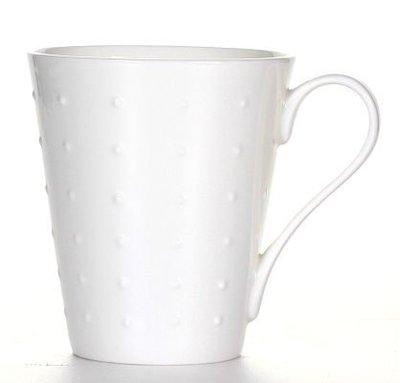 點點蘑菇屋{馬克杯}英國ROYAL DORA英格爾點紋浮雕馬克杯 水杯 奶茶杯 (單一個價) 新竹縣