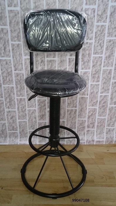 【弘旺二手家具生活館】全新/庫存 黑色皮吧檯椅 黑色皮餐椅 洽談椅 實木長椅 電腦椅 -各式新舊/二手家具 生活家電買賣