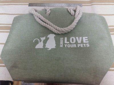 淺綠色帆布大背包