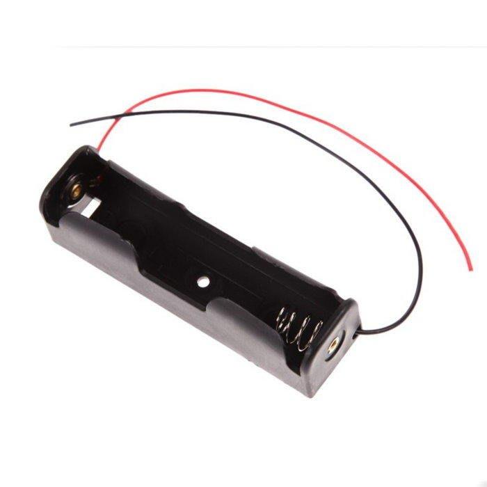 18650電池座 18650電池盒1槽不含蓋 電池盒 塑料電池盒【DY328】☆EZ生活館☆