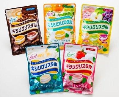 +東瀛go+ 春日井 MONDELEZ 低卡薄荷喉糖系列 綜合水果 櫻桃 柑橘 草莓 牛奶薄荷 咖啡拿鐵 三星綜合汽水糖