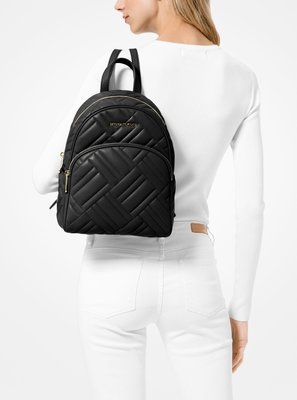 MK 美國直寄 Abbey Medium Quilted Leather Backpack 後背包 背包