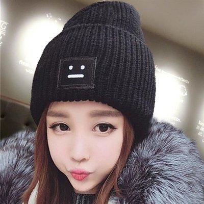 毛線帽子女冬天潮韓國可愛秋冬季時尚