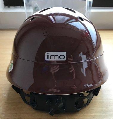 (已標出囉) (九成五新 雙北可面交) iimo 原廠 幼兒 安全帽 一歲以上 (頭圍 47-52公分)