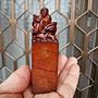 §【紫龍苑~玉器水晶藝品】§嚴選~【丹東凍石】 ~精雕~八仙之一..*呂洞賓*~精緻立體手工雕刻