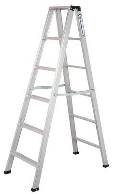 【工具屋】3.5 全焊式 焊接馬椅梯-6尺 鋁梯 焊接梯 全焊梯 A字梯 鋁合金 承重100公斤 台灣製