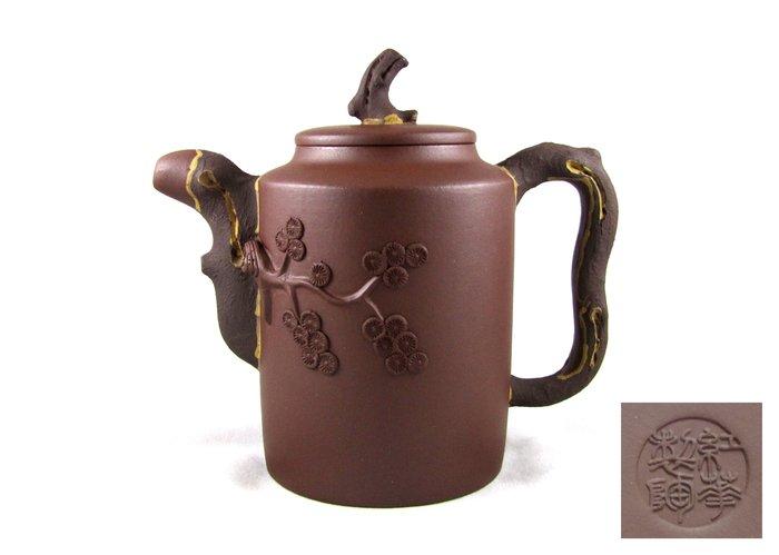 [[ 茶壺 ]] 紫砂 高松壺(No.51) 早期購入,喜歡就帶走