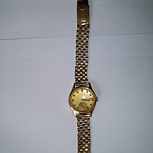 Watch Rolex Antique K gold watch and Band Boy/lady