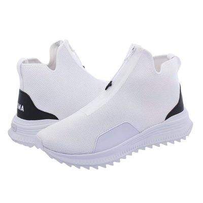 =CodE= PUMA AVID ZIP X OUTLAW MOSCOW 拉鍊網布休閒鞋(全白)367093-01 聯名