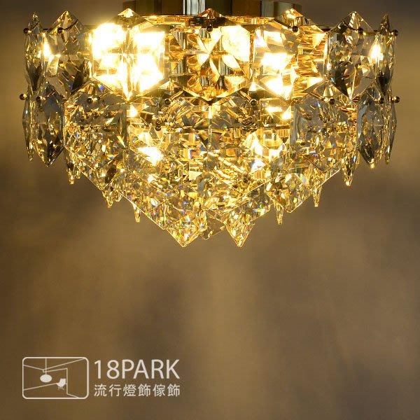 【18Park 】 低調奢華 Drilling ceiling lamp [ 匯鑽光吸頂燈-70cm ]