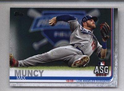 2019 Topps Update #US194 Max Muncy - Los Angeles Dodgers AS