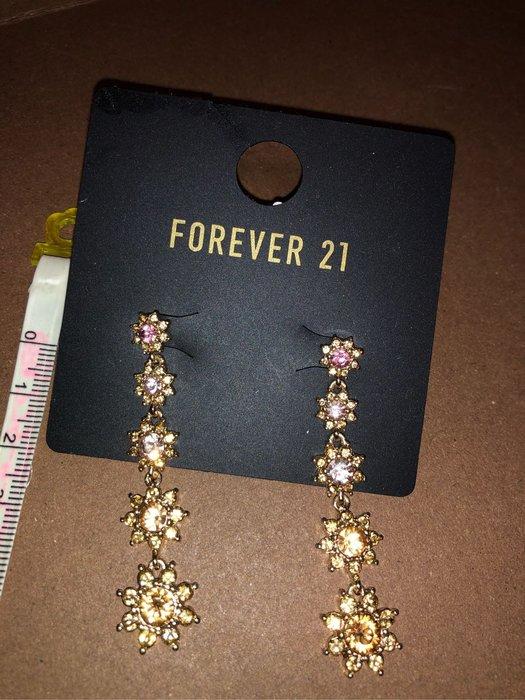 "出清--新款上架Forever 21大牌耳環"""