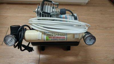 CMP-280A 空壓機 儲氣鋼瓶 噴筆2支 三種尺寸噴針