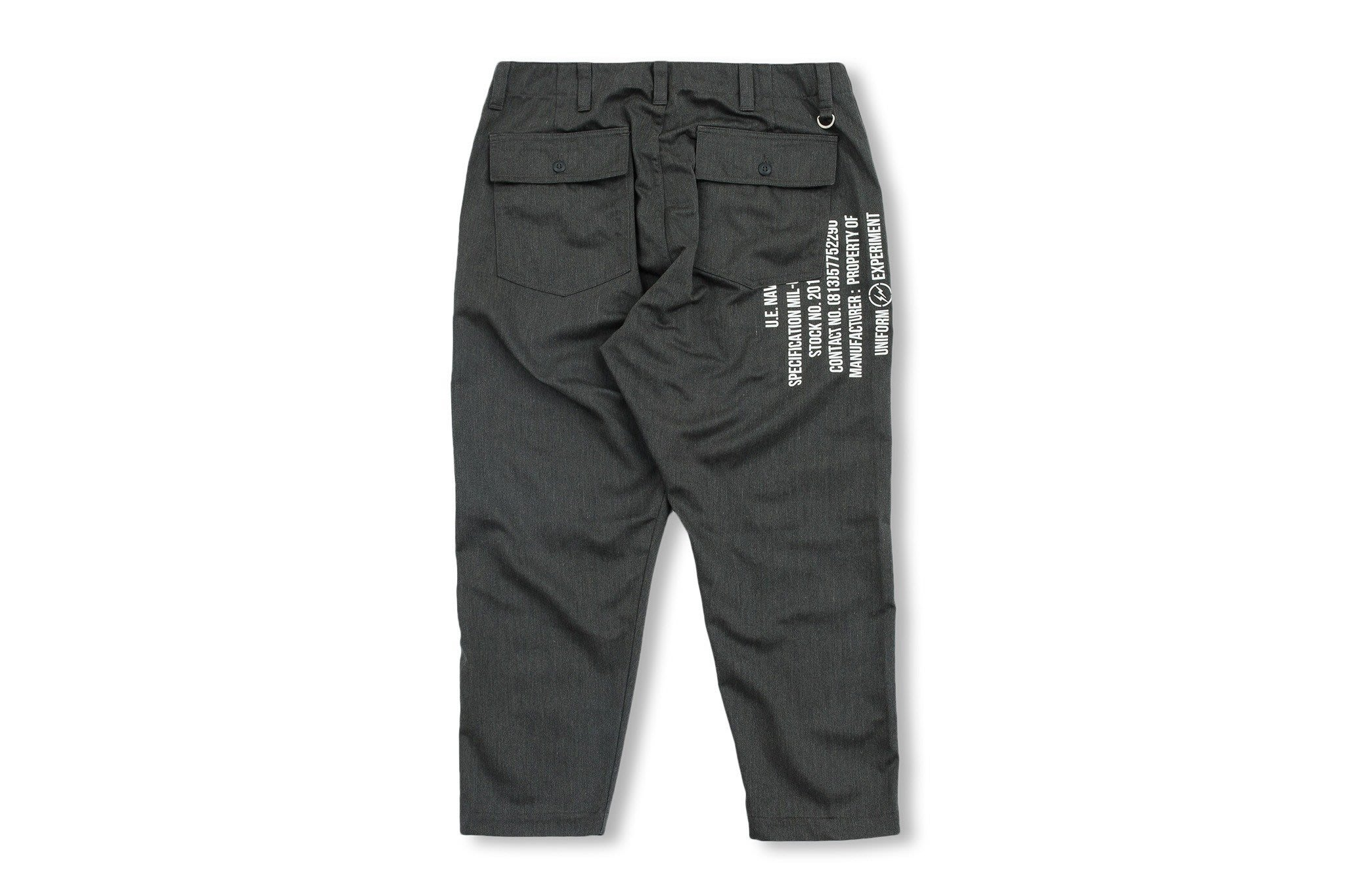 (A.B.E)uniform experiment AW19 TAPERED BAKER PANTS 兩色
